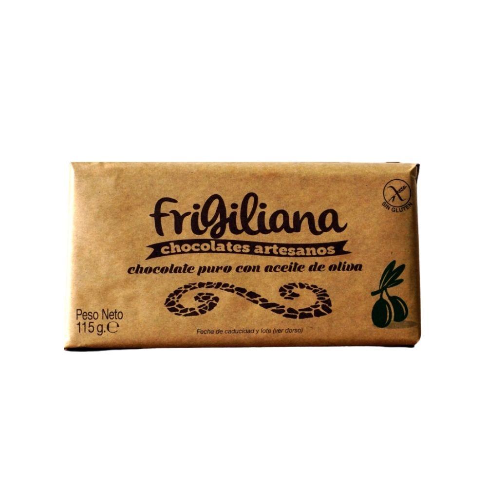 Chocolate con aceite de oliva Frigiliana Málaga Gourmet
