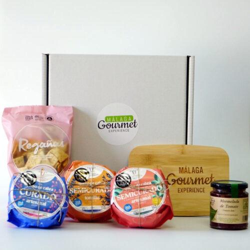 Regalas quesos de cabra Málaga Gourmet Espaerience