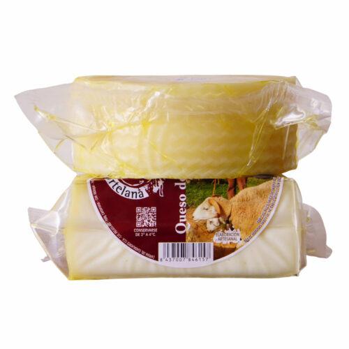 Medio queso oveja semicurado La Hortelana_Málaga Gourmet Experience
