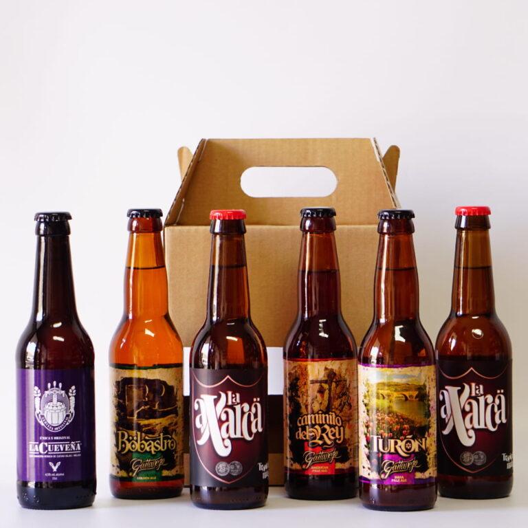 cervezas artesanales pack Málaga Gourmet Experience