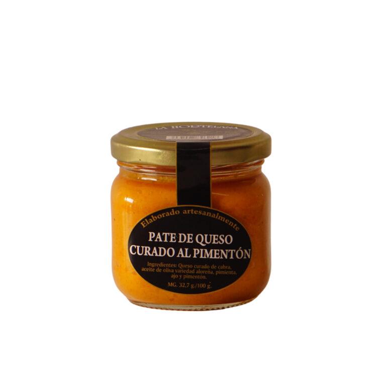 Paté de queso al pimentón Málaga Gourmet Experience