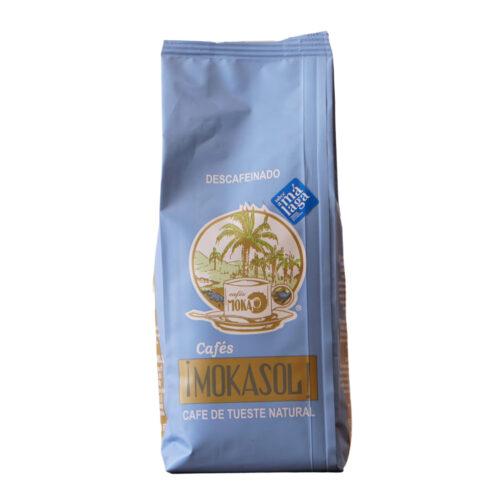 Mokasol decaf coffee Café descafeinado Mokasol Málaga Gourmet Experience