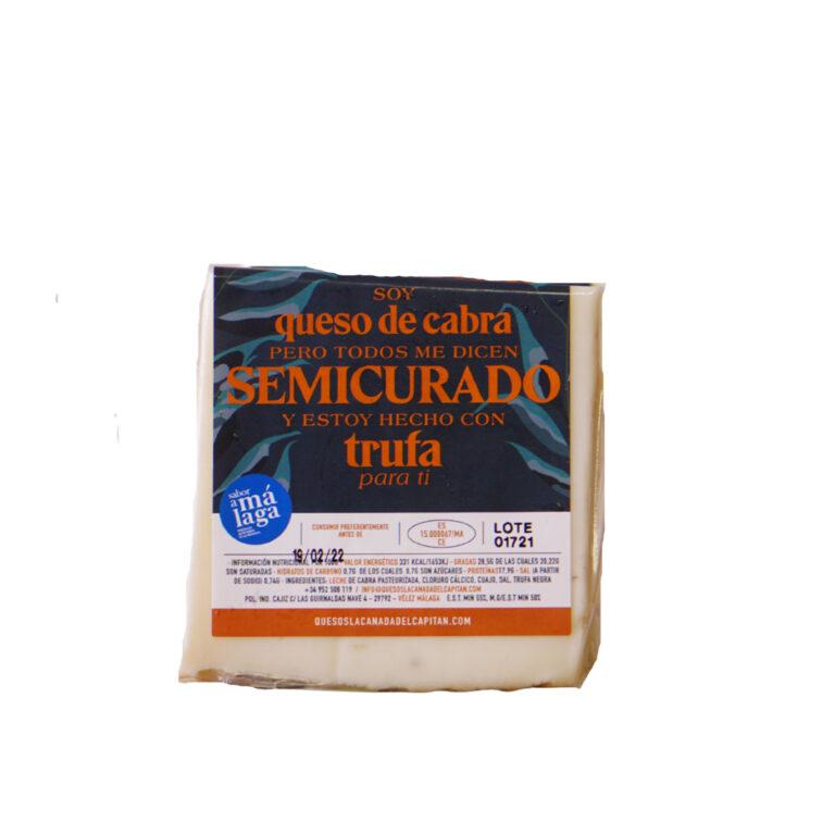 FR_Coin de fromage de chèvre semi-affiné à la truffe