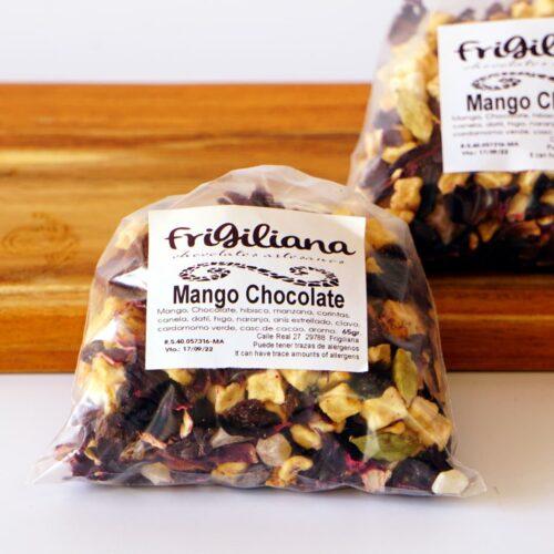 Té Mango chocolate Frigiliana Málaga Gourmet Experience